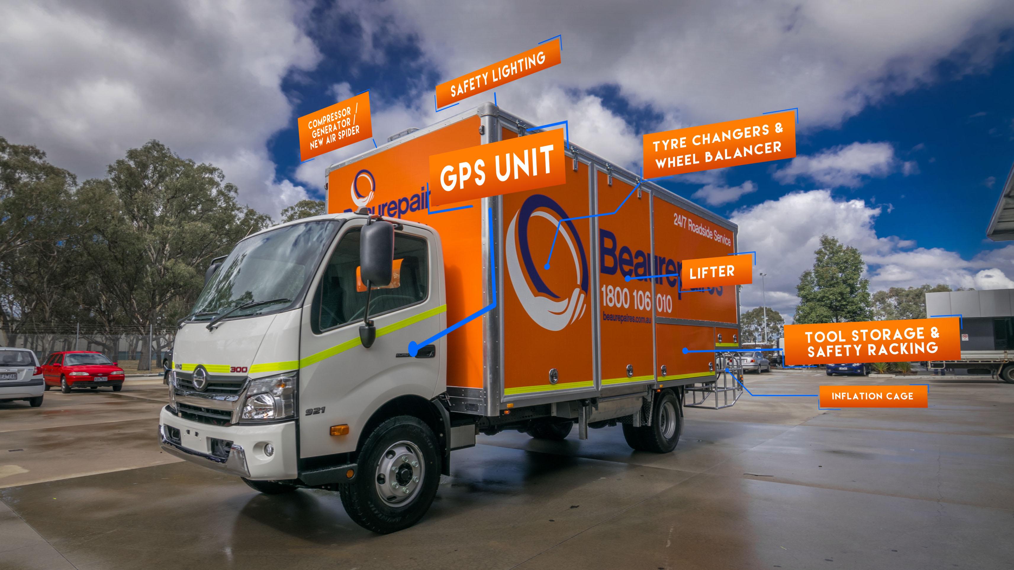 Beaurepaires Truck